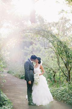 @palomablancawed | Real Bride Sharminie in Style 4514 - Wonderful Wisteria-Draped Wedding at Margaret River's Secret Garden: Arosha + Sharminie  #wedding #bride #bridalparty #weddingday #weddingdress #brideandgroom #love