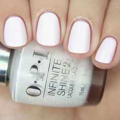 OPI Beyond The Pale Pink   Spring 2015 Infinite Shine Collection   Peachy Polish
