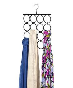 Folding Scarf Hanger #zulily #zulilyfinds