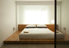 The Japanese inspired guests rooms  was designed by French designer Arnaud Montigny.