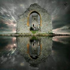Castle Ruins, Loc Ard, Scotland.