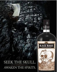 Black Magic Black Spiced Rum is my favorite!  Mix with ginger beer, in an old fashioned, or on the rocks. mmmm