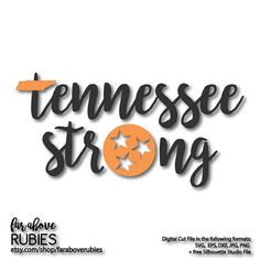 Tennessee Strong with State Shape Tristar - SVG, EPS, dxf, png, jpg digital cut file for Silhouette or Cricut Tri-star Silhouette Machine, Free Silhouette, Silhouette Studio, Vinyl Designs, Wall Art Designs, Tennessee Tattoo, Tennessee Volunteers Football, Silhouette Cameo Projects, Vinyl Crafts
