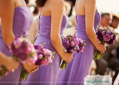 #wedding flowers #purple #ceremony