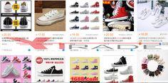 Barang import alibaba Sepatu coverse