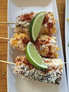 Corn on the cob, Mamasita style