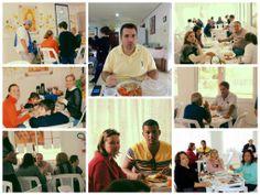 SOCIAIS CULTURAIS E ETC.  BOANERGES GONÇALVES: Almoço do Bem no Lar São Francisco