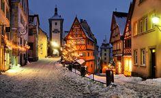 Winter, Rothenburg, Germany
