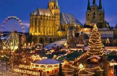 Erfurt, Germany | 17 Actual Towns That Look Just Like Hogsmeade