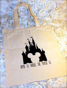 72606a2849 Canvas Tote Bags for Hauling All Your Disney Essentials
