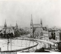 Indianapolis Then and Now: Christ Church Cathedral, 125 Monument Circle | Historic Indianapolis | All Things Indianapolis History