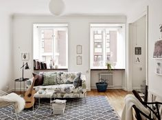 Small space inspiration: a lovely Swedish apartment