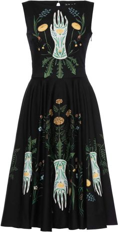 Get inspired and discover Lena Hoschek trunkshow! Shop the latest Lena Hoschek collection at Moda Operandi. Witch Dress, Witch Outfit, Fairytale Fashion, Witch Fashion, Look Cool, Aesthetic Clothes, Nice Dresses, Casual, Fashion Dresses