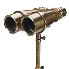 Victorian Binoculars with Tripod - Binoculars Authentic Models, Nautical - Distinguished Imports