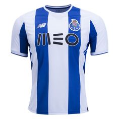New Balance Porto Home Jersey 17/18 -  Get set for the 2018 Champions League at WorldSoccershop.com