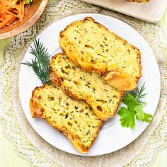 Low Carb Karotten-Zucchinibrot