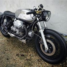 lemoncustommotorcycles: By @relicmotorcycles from Denmark #custom #bike #motocycle #bratstyle #caferacer #kustom #motoguzzi by saint_motors http://ift.tt/1xevTUq