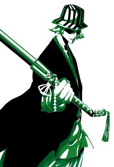 """Kisuke Urahara (浦原 喜助, Urahara Kisuke) is the former captain of the 12th Division, as well as the founder and 1st President of the Shinigami Research and Development Institute. He currently lives in the Human World after being exiled, where he owns a small convenience store, """"Urahara Shop"""", which doubles in selling Shinigami items. The shop is maintained by Urahara himself, as well as his employees Tessai Tsukabishi, Jinta Hanakari, and Ururu Tsumugiya."""
