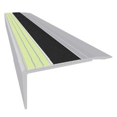 Vinyl Stair Nosing is designed to create a highly visible step edge to reduce falls and enhance speed in all situations whether light, dark or dimly lit.