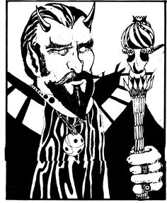 Asmodeus (from the 1st Edition Monster Manual).