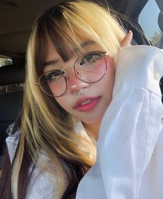 Internet Icon, Ulzzang, Casual Outfits, Good Things, Glasses, People, Empire, Girls, Photos