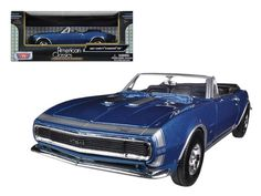 1967 Chevrolet Camaro SS Convertible 1:24 Diecast Car Model by Motormax