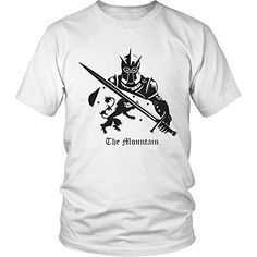 """Men's Exlusive """"The Mountain"""" - Fine Print Cotton Game of Thrones T-shirt"""