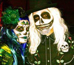 More Dia De Los Muertos Makeup and Costumes