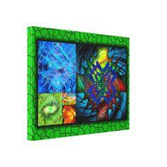 Geometria Origem - Tela impressa em canvas - medidas: 60,96 x 45,72 cm - R$ 351,95