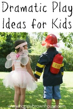 Do your kids like to pretend? These dramatic play ideas for kids are perfect for encouraging kids' imagination. These are great for dramatic play centers in preschool or to set up at home. Play Based Learning, Learning Through Play, Fun Learning, Dramatic Play Themes, Dramatic Play Centers, Winter Activities For Kids, Kids Learning Activities, Drama Activities, Early Childhood Education