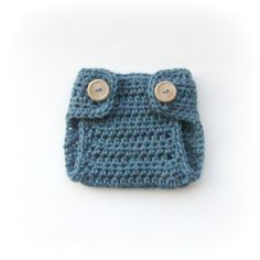 Crochet Diaper Cover for Newborn Boys by cherlynnephotography, $12.00