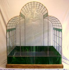 cryatal palace stained glass wardian case