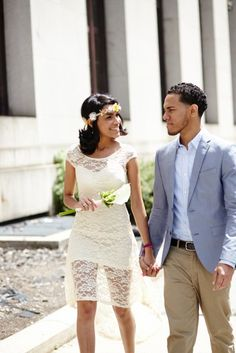 City Hall Wedding Outfit Ideas