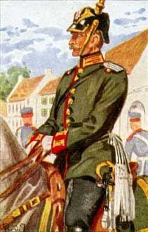 Preußen: Jäger, Reitendes Feldlager-Korps, Gendamerie, Stabswachen