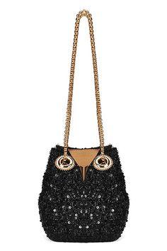 #ROMWE | Black Owl Shaped Sequined Bag, The Latest Street Fashion