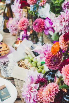 Stunning Floral Party Tablescape Design