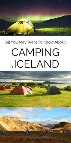 Planning to go camping in Iceland? Here you can find answers to all your questions and practical tips for your trip. Find out! Iceland Road Trip, Iceland Travel Tips, Camping Guide, Go Camping, Places To Travel, Travel Destinations, Iceland Waterfalls, Travel Activities, Family Travel