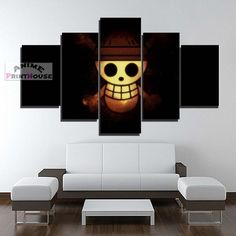 One Piece canvas painting wall decor. One Piece canvas prints are great for your room. Check on our online store the full One Piece canvas collection! One Piece Merchandise, Anime Merchandise, Canvas Art Prints, Canvas Wall Art, One Piece Logo, Geeks, Otaku Room, Image Manga, Canvas Designs