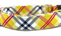 Bow Wow Couture Dog Collar in Don Draper available at www.ZoePetSupply.com