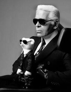 """Karl Lagerfeld: """"Ich bin nicht intellektuell, nur ziemlich kultiviert"""""""