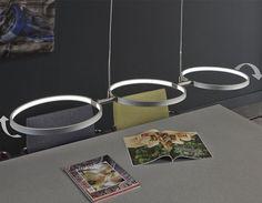 Suspension LED en nickel mat design 2002