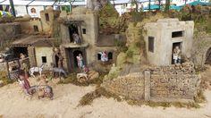 El Belén Tradicional Hebreo 2014 del Parque de San Telmo en Las Palmas de Gran Canaria. Canario, Mount Rushmore, Mountains, Nature, Travel, Painting, Nativity, Bar, Nativity Scenes