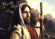 I Am The Way by Simon Dewey ~ Jesus the Good Shepherd Pictures Of Jesus Christ, Images Of Christ, Jesus Pics, Jesus Art, God Jesus, Kenneth Cope, Simon Dewey, Image Jesus, Lds Art