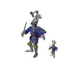 Duke of Bourbon Medieval Knight w// Sword Action Figure Safari Ltd Fantasy NEW