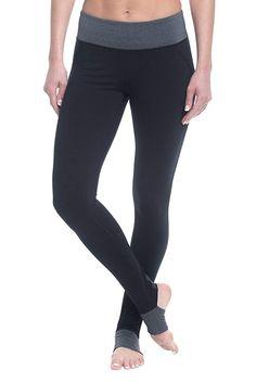 037e7d34f82d1 Women's Om Panel Barre Legging Performance Spandex Compression Stirrup Pant  - Black Tap - CZ184870S9S