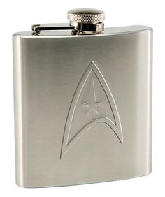 Star Trek 6 oz. Stainless Steel Flask $19.96 | 42 Fandom Inspired Kitchen Items You Didn't Know You Needed
