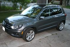 The 2012 Volkswagen Tiguan. Touareg Vw, Merc Benz, Toyota Auris, Small Suv, Vw Tiguan, Driving Test, Cars And Motorcycles, Volkswagen, Road Trip