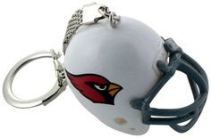 Arizona Cardinals Helmet Keychain