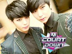 Hongbin and Leo ♡ #VIXX #KPOP // MCountdown!