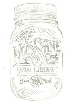 moonshine liquor tattoo - photo #4